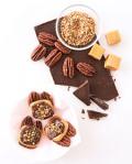 Chocolate-Caramel Pecan Cluster